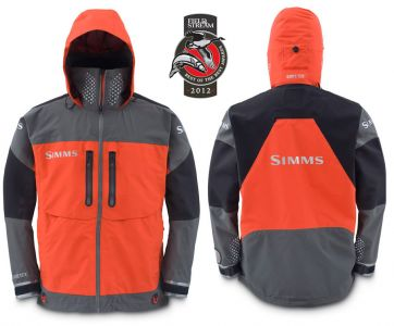 W dkarstwo muchowe for Fly fishing rain jacket